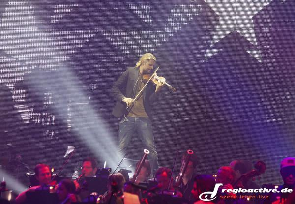 Solist - Fotos: David Garrett live in der SAP Arena in Mannheim